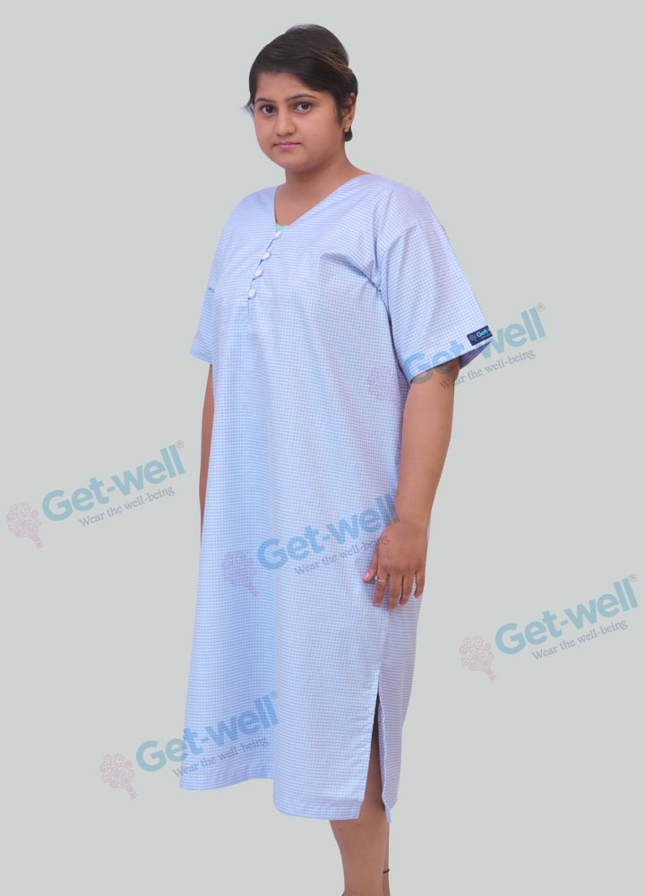 Hospital Women Patient Gown